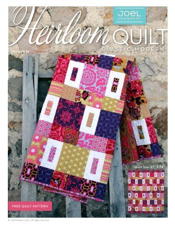 Heirloom Quilt - Home Decor Fabrics By Joel Dewberry