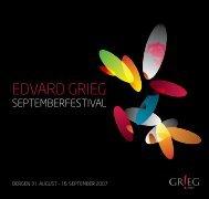 Programmet for Septemberfestivalen - Hjem