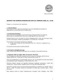 4. Regnskab 2004 og budget 2005 ved kasserer ... - Herlev Tennisklub
