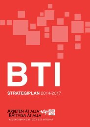 STRATEGIPLAN 2014-2017 - BWI 2013 World Congress
