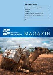 Magazin, Heft 1, 2013 - Kornhausbibliotheken