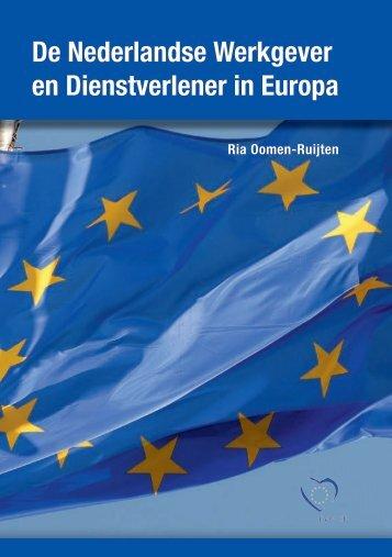 """Brochure I: """"De Nederlandse Werkgever en ... - Ria Oomen"""