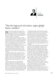 """När det ingen sol och måne, ingen glädje finns i världen"""" - Suomen ..."""