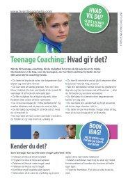 Download pdf om teenage coaching - Hverdagenshelte