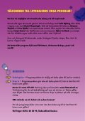 PROGRAm FÖR UNGA - Page 2