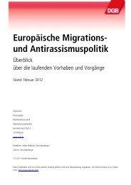 EuropäischeMigrations-undAntirassismuspolitik - IGR Viadrina