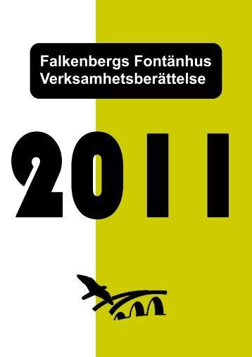 Verksamhetsberättelse 2011 - Falkenbergs Fontänhus