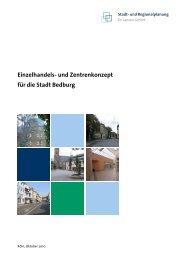 Einzelhandels- und Zentrenkonzept für die Stadt Bedburg