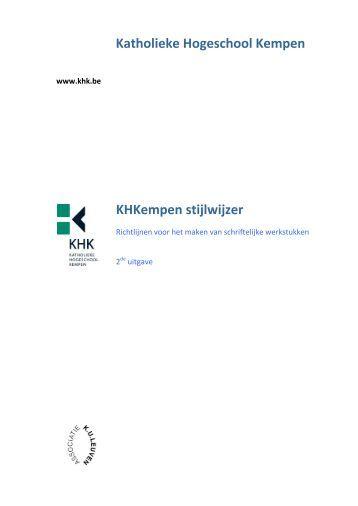 katholieke hogeschool kempen thesis Ingrid knippels of katholieke hogeschool kempen | khk is on researchgate read 8 publications and contact ingrid knippels on researchgate, the professional network.