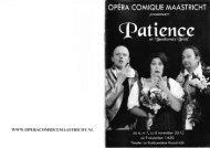 Patience - Opéra Comique Maastricht