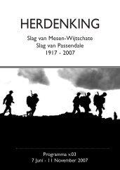 Slag van Mesen-Wijtschate Slag van Passendale 1917 - Memorial ...