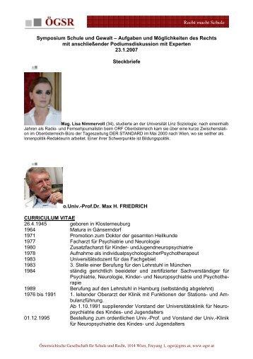 Recht macht Schule Symposium Schule und Gewalt – Aufgaben ...