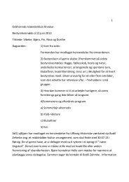 Referat fra bestyrelsesmøde afholdt den 12. juni 2013. - Árvakur