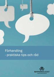 Förhandling - praktiska tips och råd - Upphandlingsstöd.se