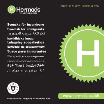 Kurskatalog Sfi Stockholm.pdf - Hermods