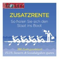 Focus Money: Zusatzrente - Prismalife AG