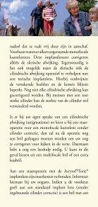 Een cilinder AcrySof Toric - Kijk op staar - Page 7