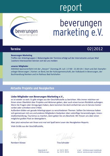 02|2012 - Beverungen Marketing ev