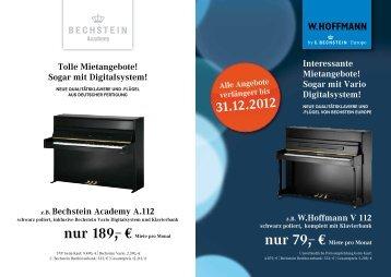 Zu den Klavier-Miet-Angeboten - Bechstein