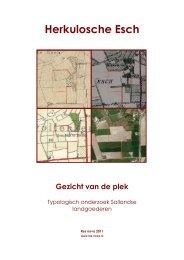 Gezicht van de plek - Gemeente Zwolle