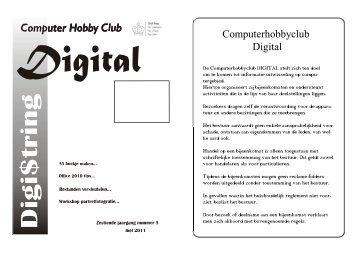 Digistring mei - Computer Hobby Club DIGITAL