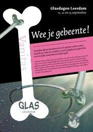 Wee je gebeente! - Nationaal Glasmuseum