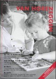 Dr. J.G. de Ridder-Sluiter VTO-taalscreening: over jonge ... - Fenac