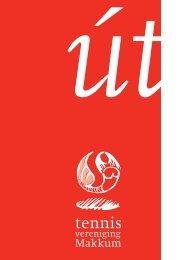 Ut Nr 1 2011 - Tennisvereniging Makkum