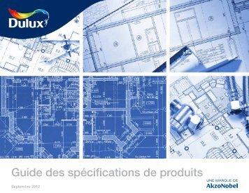 télécharger le Guide des spécifications de produits - Betonel