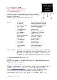 Scholenoverleg verslag 071024.pdf - LOGO Antwerpen