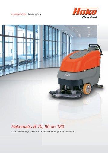 Hakomatic B 70, 90 en 120