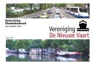 Herinrichting Eilandenboulevard - Vereniging de Nieuwe Vaart
