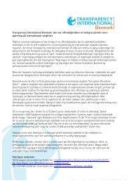 April 2013 - Transparency International Danmark
