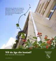 Att bilda bostadsrätt - Sollentuna kommun