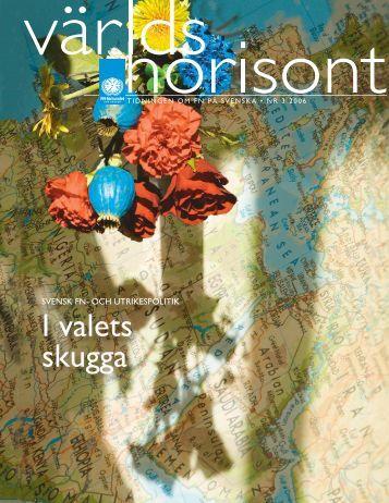 I valets skugga - Svenska FN-förbundet