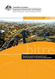 PDF: 20283 KB - Bureau of Infrastructure, Transport and Regional ...