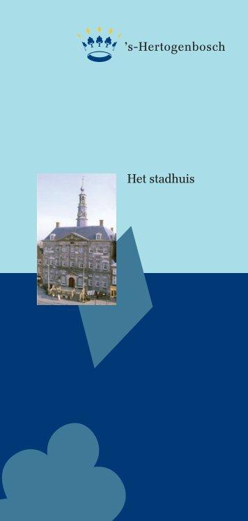 Folder Stadhuis - s-Hertogenbosch