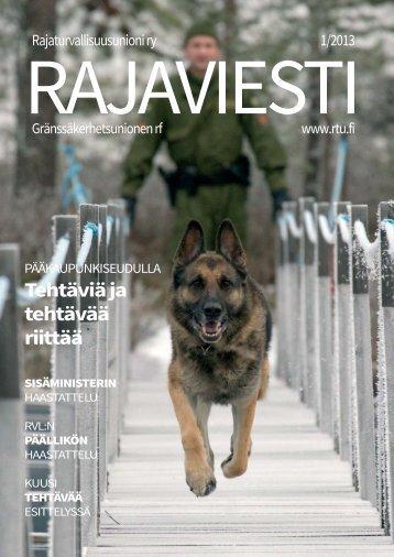 Lataa lehti tästä linkistä! - Rajaviesti.fi