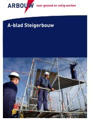 A-blad Steigerbouw - Arbouw