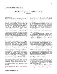 Mitochondrial Dynamics in Cell Life and Death - SciELO - Scientific ...