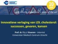 Innovatieve verlaging van LDL cholesterol - Cardiovasculaire ...