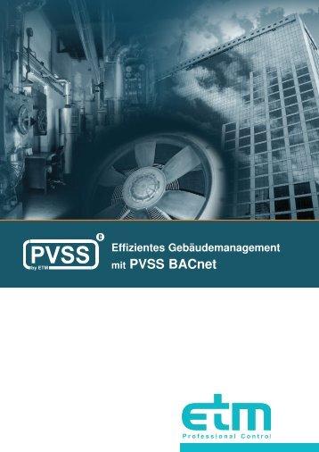 mit PVSS BACnet - ScaSoft GmbH