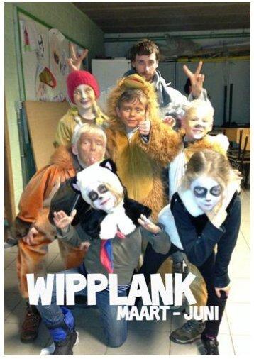 Wipplank Maart - Juni - Scouts Rode