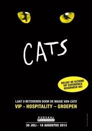 CATS arrangementen - Kursaal Oostende B2B