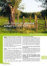 oude bareel wil groene schat beschermen > > - Gents MilieuFront