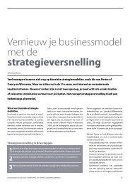 Vernieuw je businessmodel met de ... - Gert Jan Schop