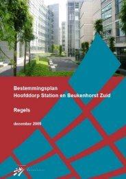 Hoofddorp Station en Beukenhorst Zuid regels - Energiezuinige ...