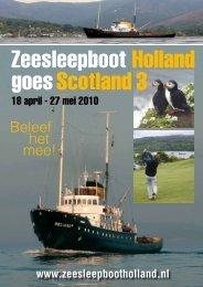 het Beleef mee! - Zeesleepboot Holland