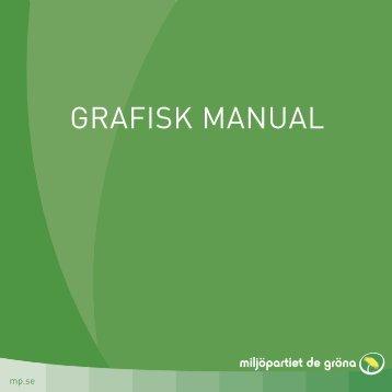 Grafisk Manual - Miljöpartiet de gröna