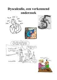 Dyscalculie, een verkennend onderzoek - Welcome to brunekreef.com
